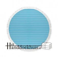 Hamam doek rond 180 g/m² katoen incl. borduren