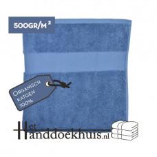 Handdoek Organisch 70 x 140cm (500 gr/m2) incl. borduring