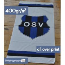 Handdoek 50 x 100cm (400 gr/m2) all over bedrukken