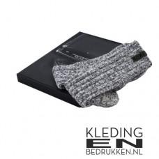 Geitenwollen sokken met label
